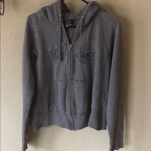 Volcom zip up hoodie sweatshirt size M